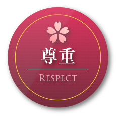 The reason of choice. 「Respect」